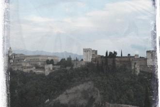 Die Alhambra. Granada.