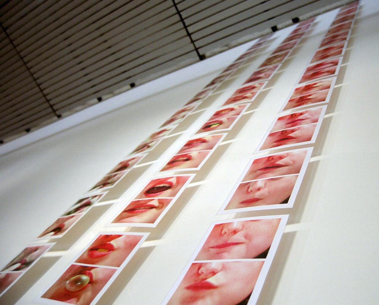 »MundWerk« (2004/05) – Ausstellungssituation
