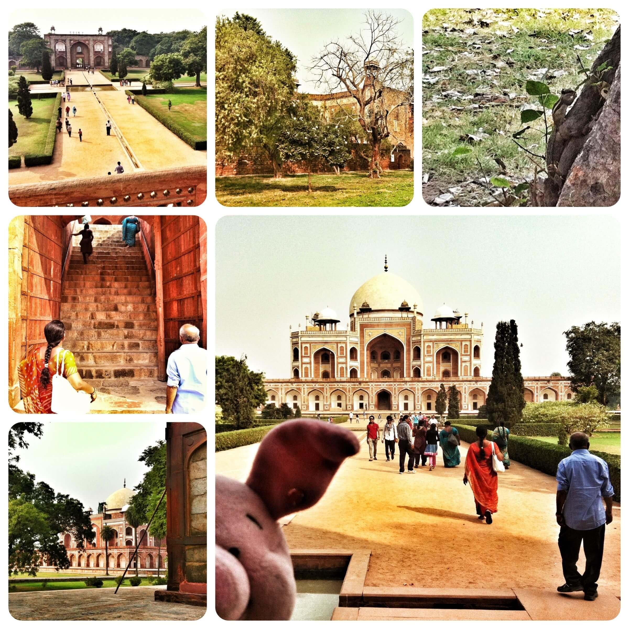 Impressionen vom Humayun-Mausoleum