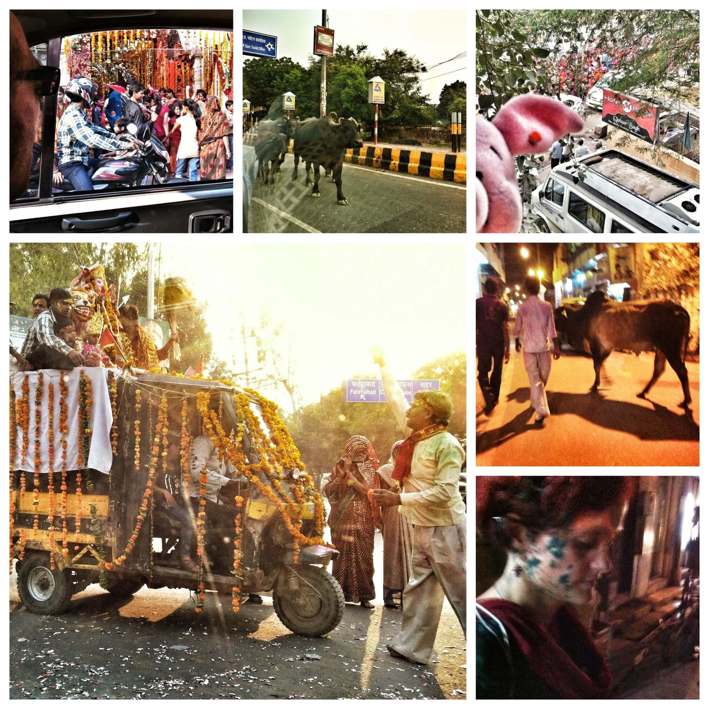 Agra. Indien.