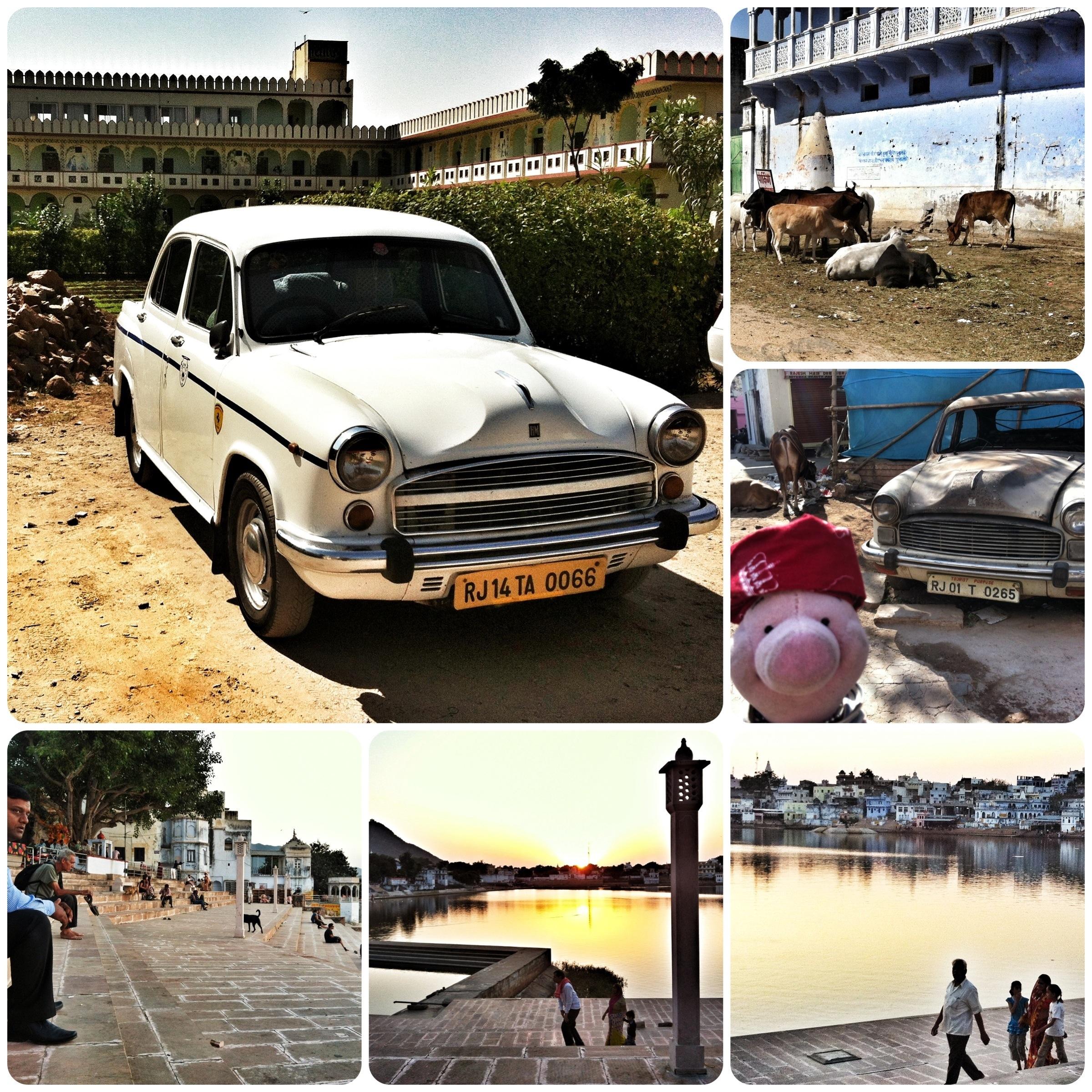 Shoppingrausch am heiligen See Pushkars.