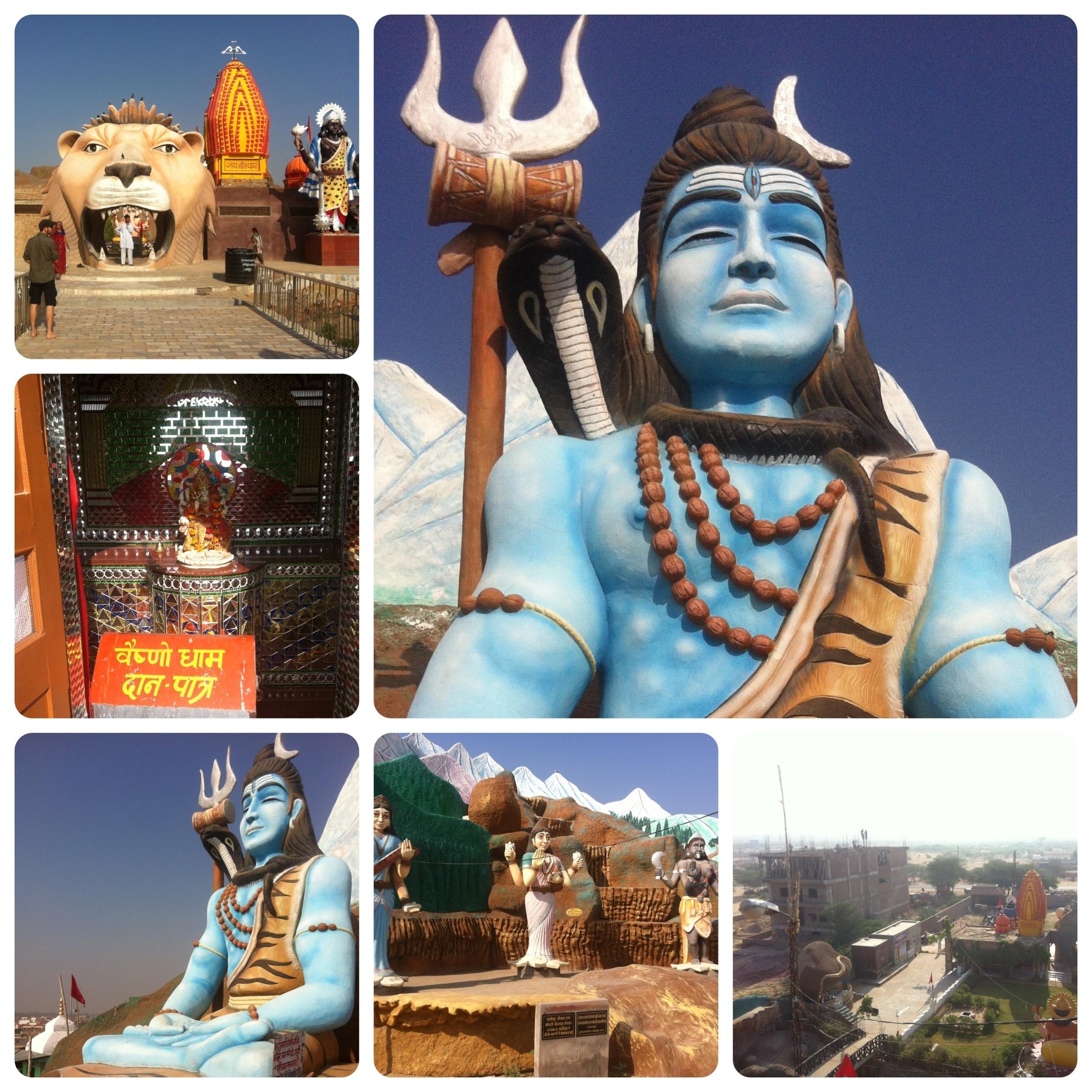 Tempel, Mandawa und noch mehr Havelis.
