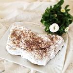 Veganer Rübli-Kuchen.