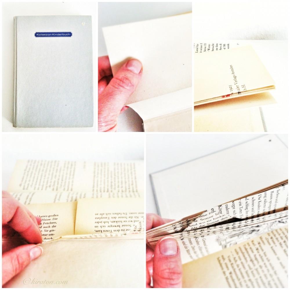 Schönes aus Büchern: Buchseitenfächer