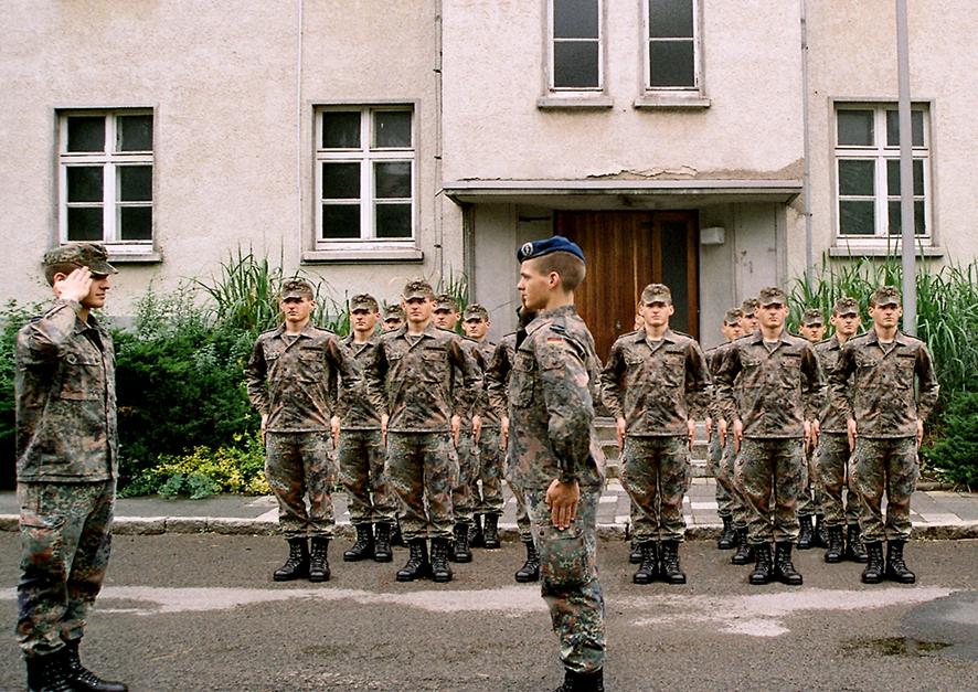 »Kollektives Individuum / Antreten« (2006)