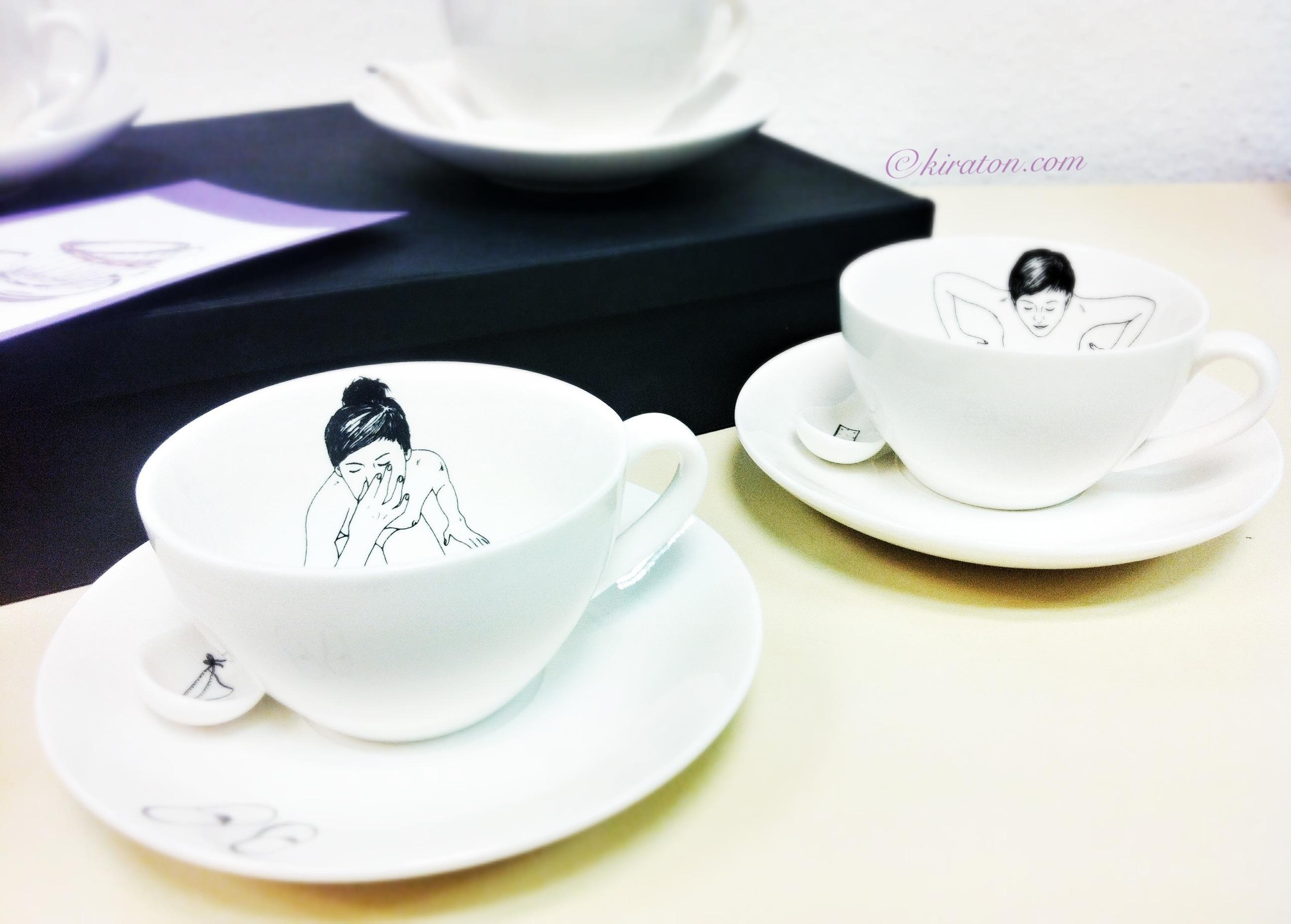 Bathing Girls Tea Set by Esther Horcher
