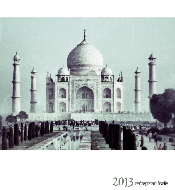 Kalender Rajasthan/Indien 2013