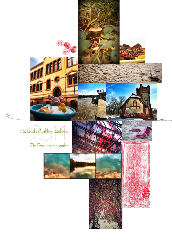Rückblick. Ausblick. Einblick. Ein Postkartenkalender. 2014