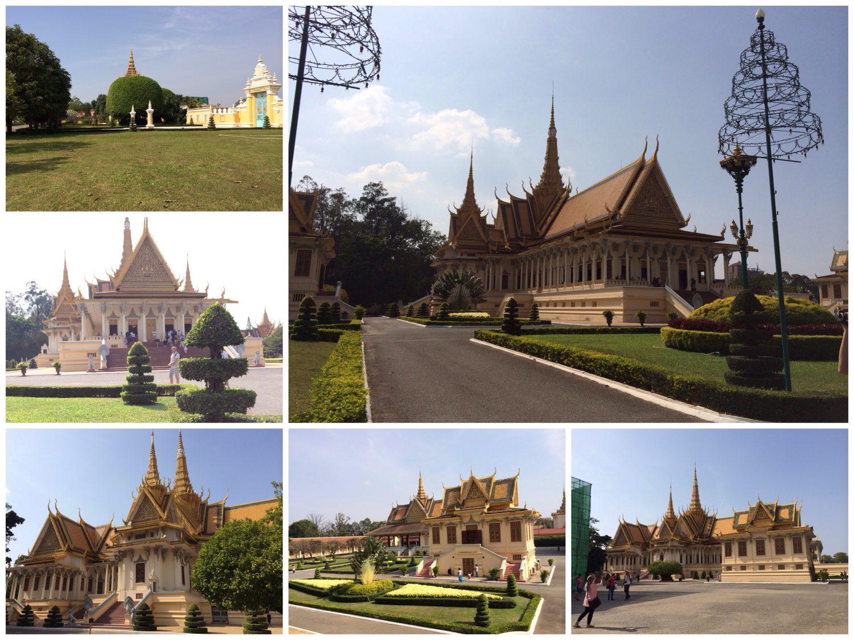 Königspalast Phnom Penh.