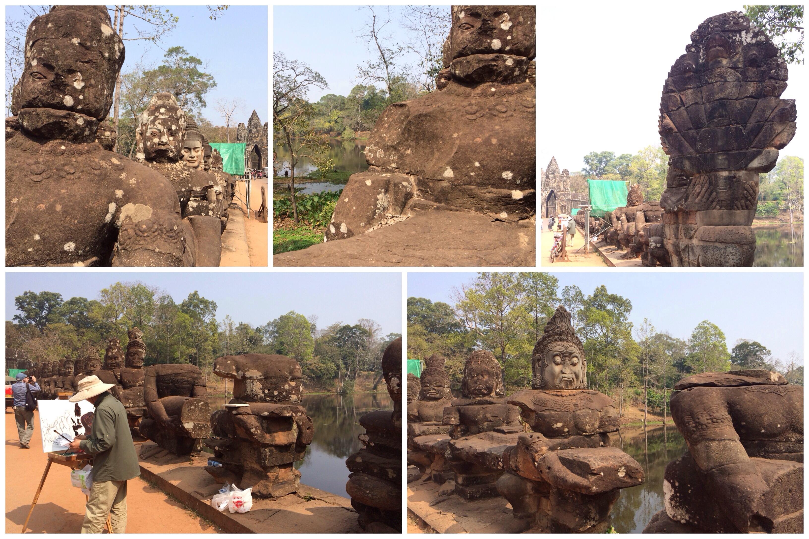 Südtor von Angkor Thom