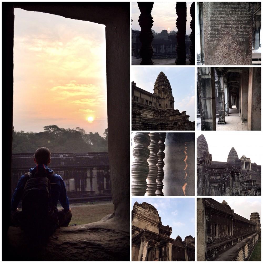 Von Ankor Wat & Banteay Srei.