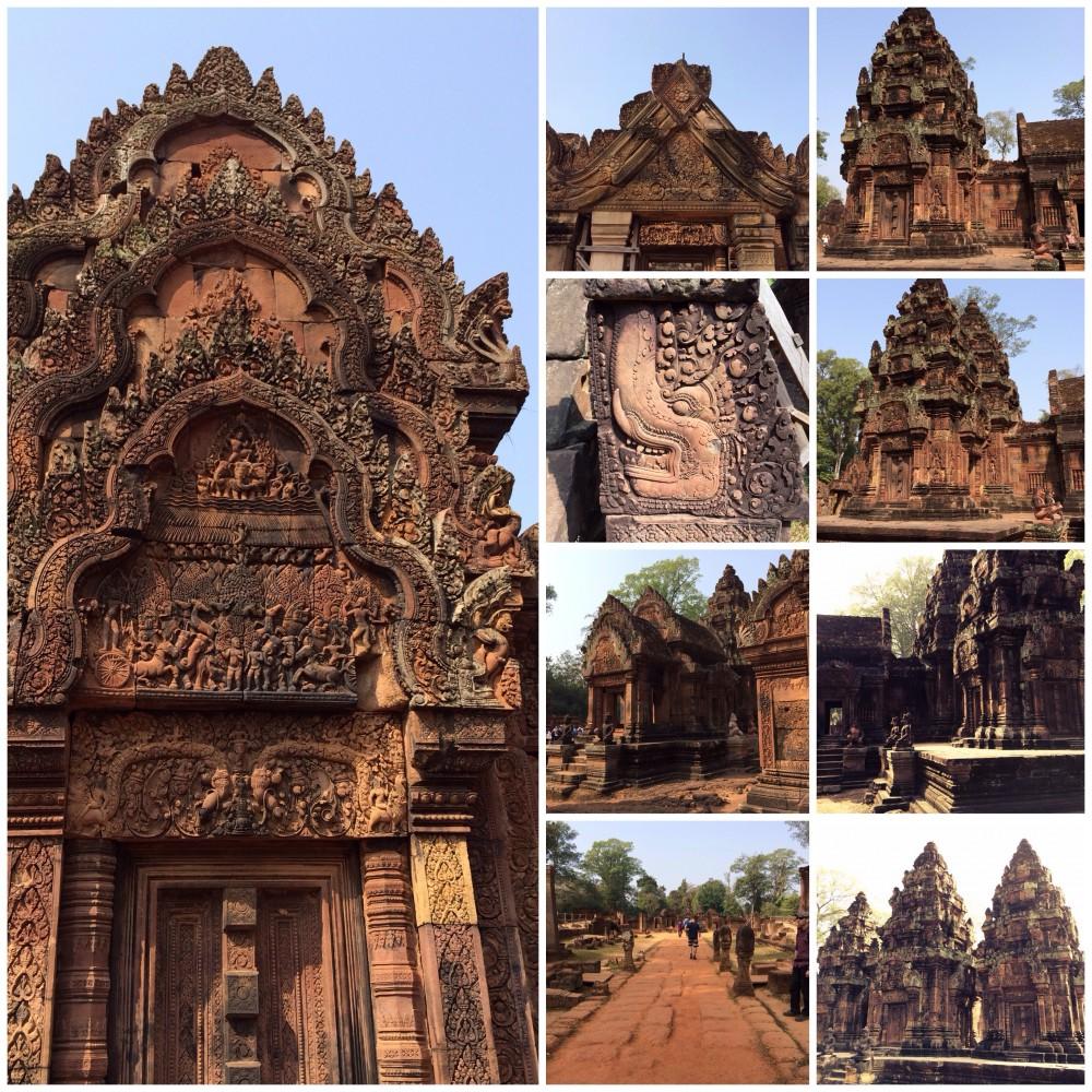 Von Angkor Wat & Banteay Srei.
