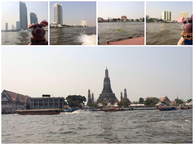 Bootstour in Bangkok.