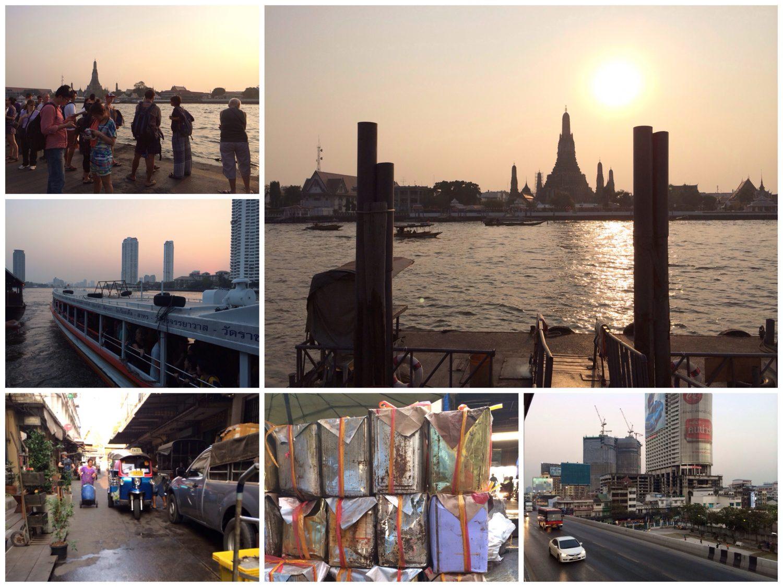 Impressionen aus Bangkok.