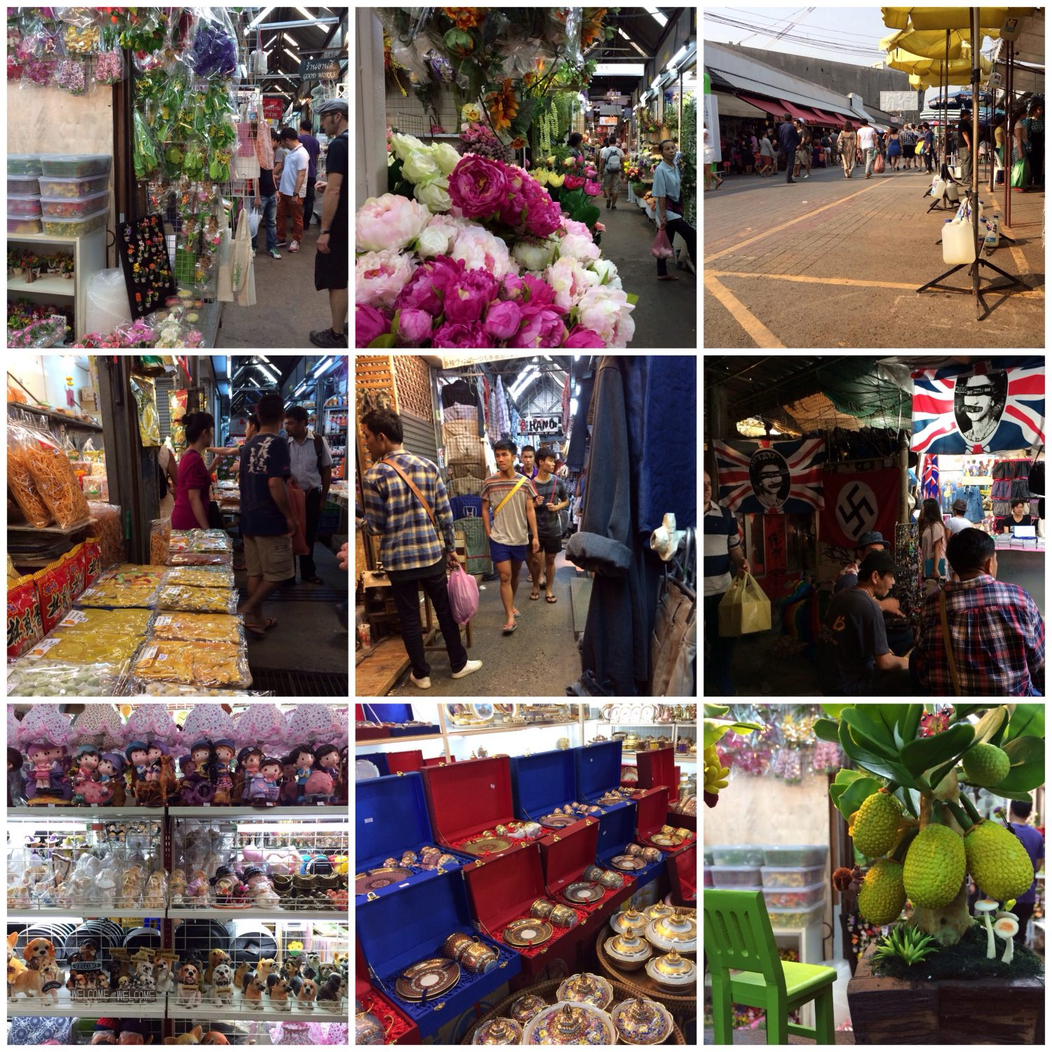Chatuchak Weekend Market.