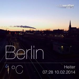 Berlin, 1°C