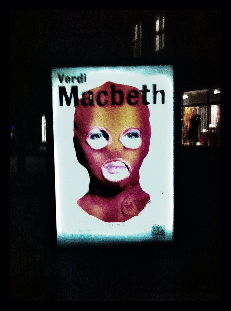 Macbeth. Plakat.