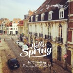 Hello Spring. Lille.
