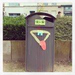 Hier hat jemand Müllhunger.