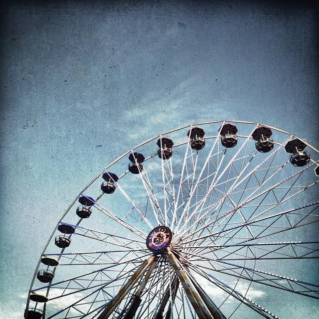 Riesenrad. | Big wheel.