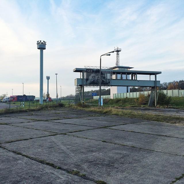 25 Jahre nach dem Mauerfall: Besuch der Gedenkstätte Grenzübergang Marienborn.