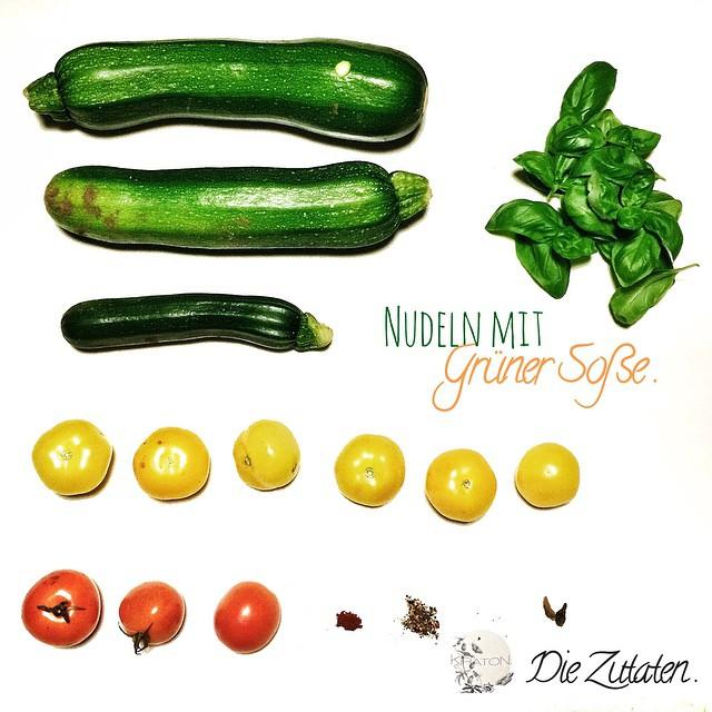 Spätsommergruß: Nudeln mit grüner Soße. Ein veganes Rezept von mir das letzte Woche auf @Thebirdsnewnest online ging: http://t.co/8snQbZ4Gq5