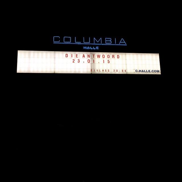 Die Antwoord @columbiahalle