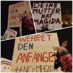 """Ferkel: """"Wehret den Anfängen!"""" #NoMagida #nonazis #NoPegida"""