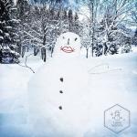 Snowhuman. | Schneemensch.