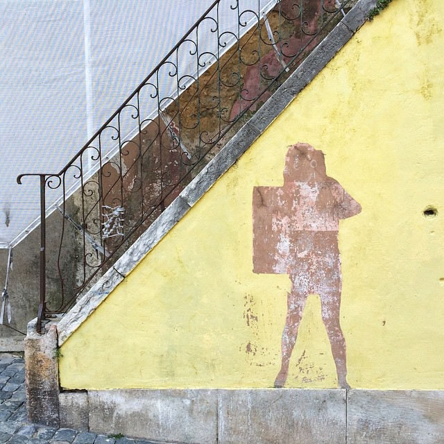 Streetart in Lisboa.