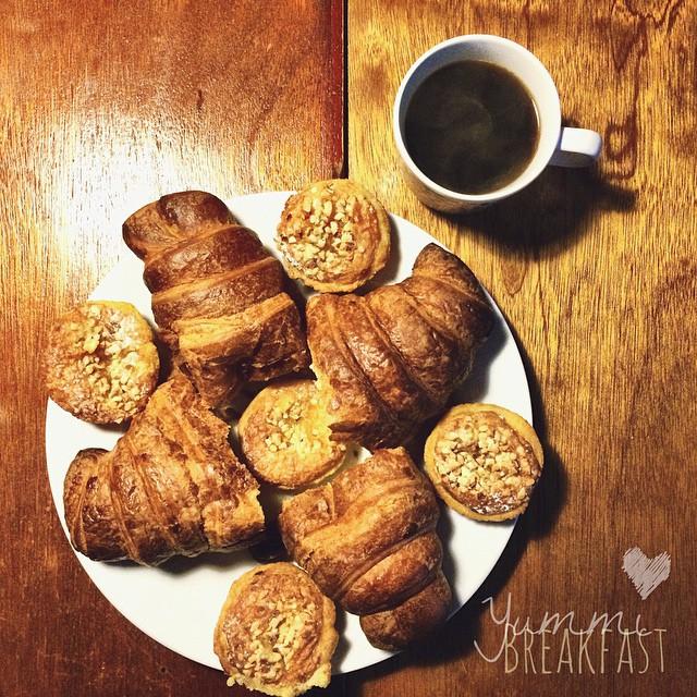 Yummmiiii breakfast.