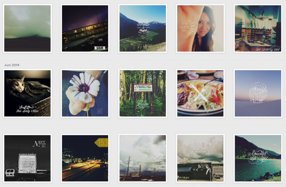 Screenshot vom Instagram-Account von Rebecca Tillett
