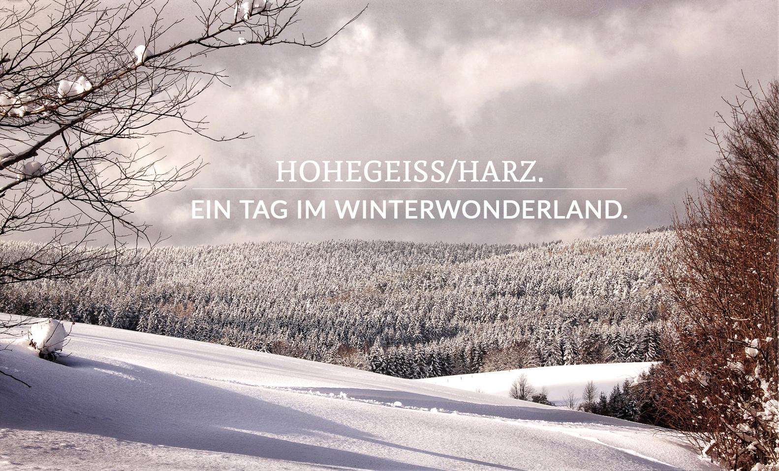 Ein Tag im Winterwonderland.