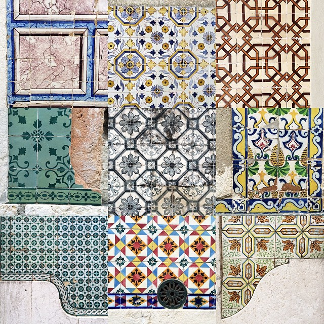 Tiles in Lisboa. II