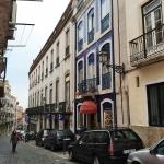 The blue house of 'Night Train to Lisbon'Das Blaue Haus aus Nachtzug nach Lissabon.Comboio nocturno para Lisboa. [Pascal Mercier]
