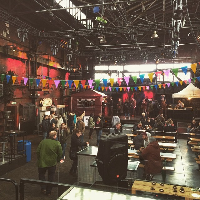 Besuch beim schönen Alfred zum Street Food Market. | Visit the Schöner Alfred & the Street Food Market. Yummmmiiiiiiii