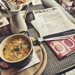 Einstimmung auf die #BukoPB15 mit nem Pott Suppe im Pott.