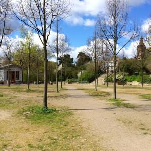 Park am Fürstenwall.