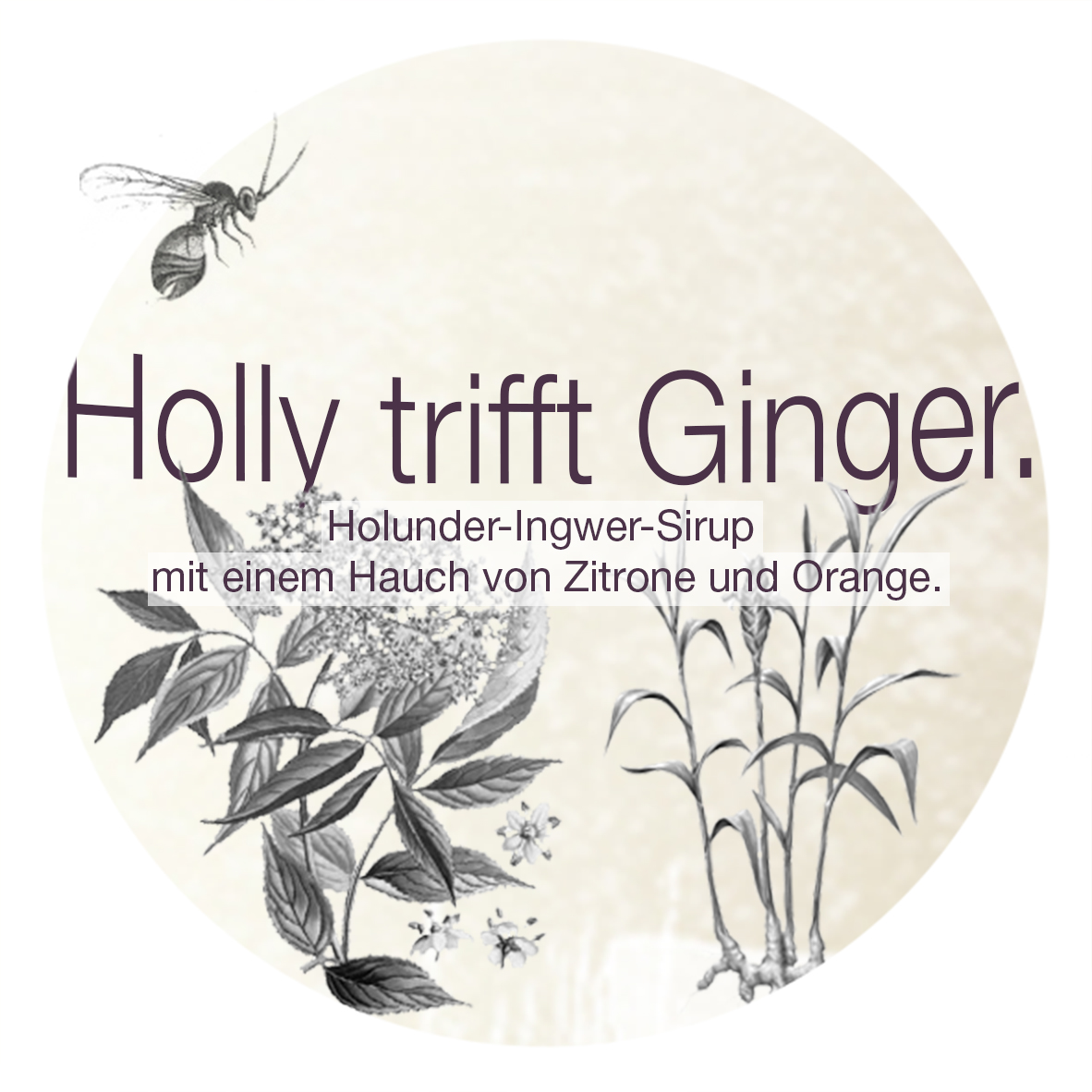 Holly trifft Ginger. | Etikett.
