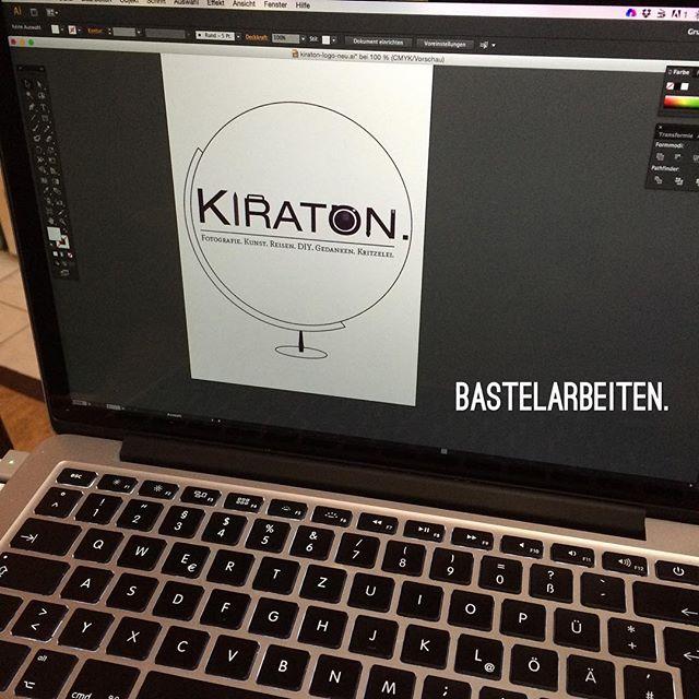 Bastelarbeiten. Logodesign