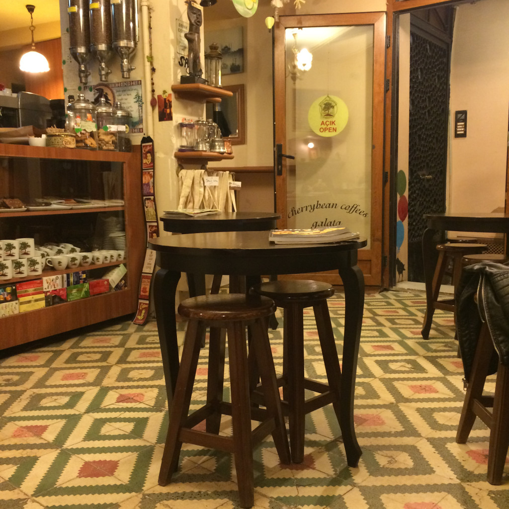 Cherry Bean Coffee, Istanbul