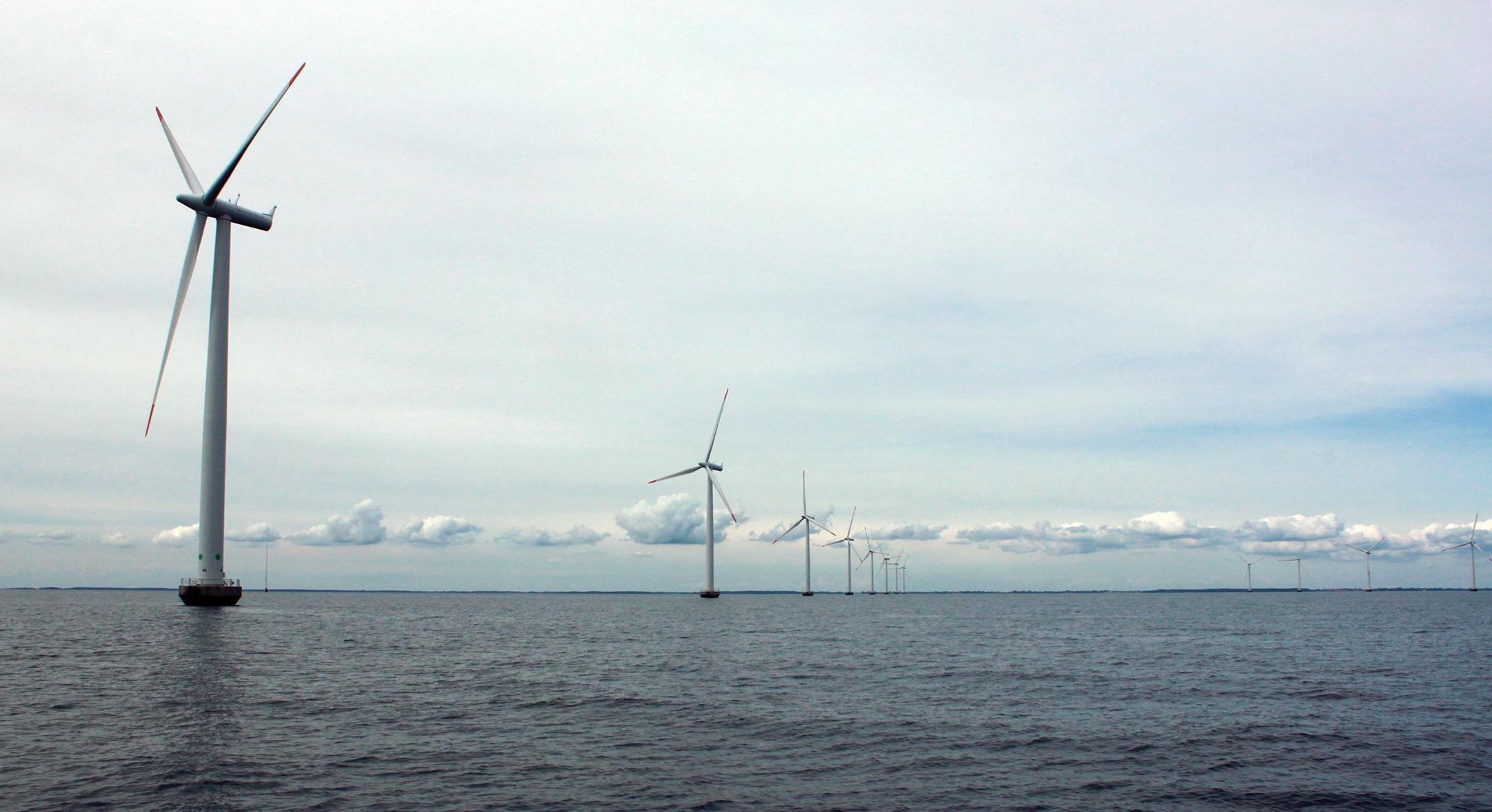 Windpark auf der Ostsee. Foto: kiraton.com