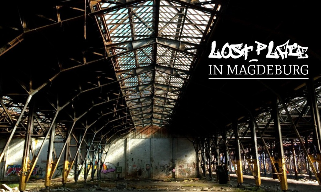 Lost Place in Magdeburg.