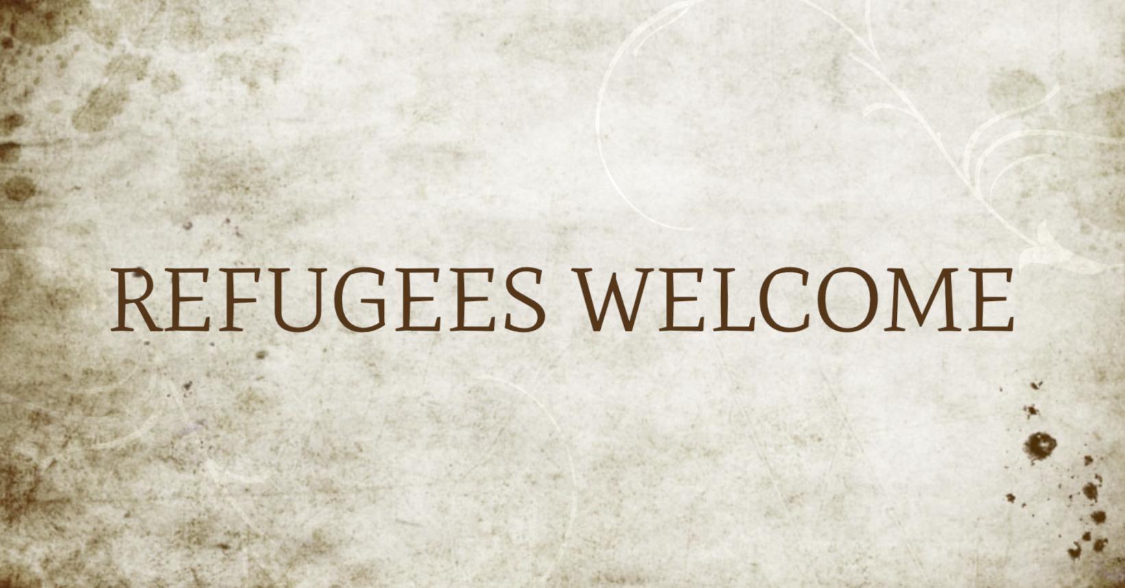 #refugeeswelcome #bloggerfuerfluechtlinge