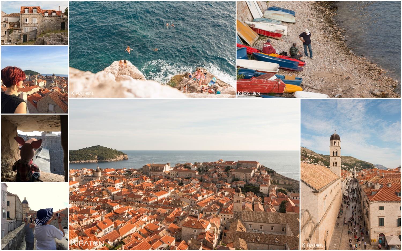 Über den Dächern von Dubrovnik.