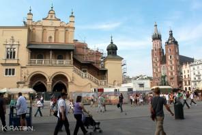 Die Tuchhallen in Krakau. Polen (9 von 25)