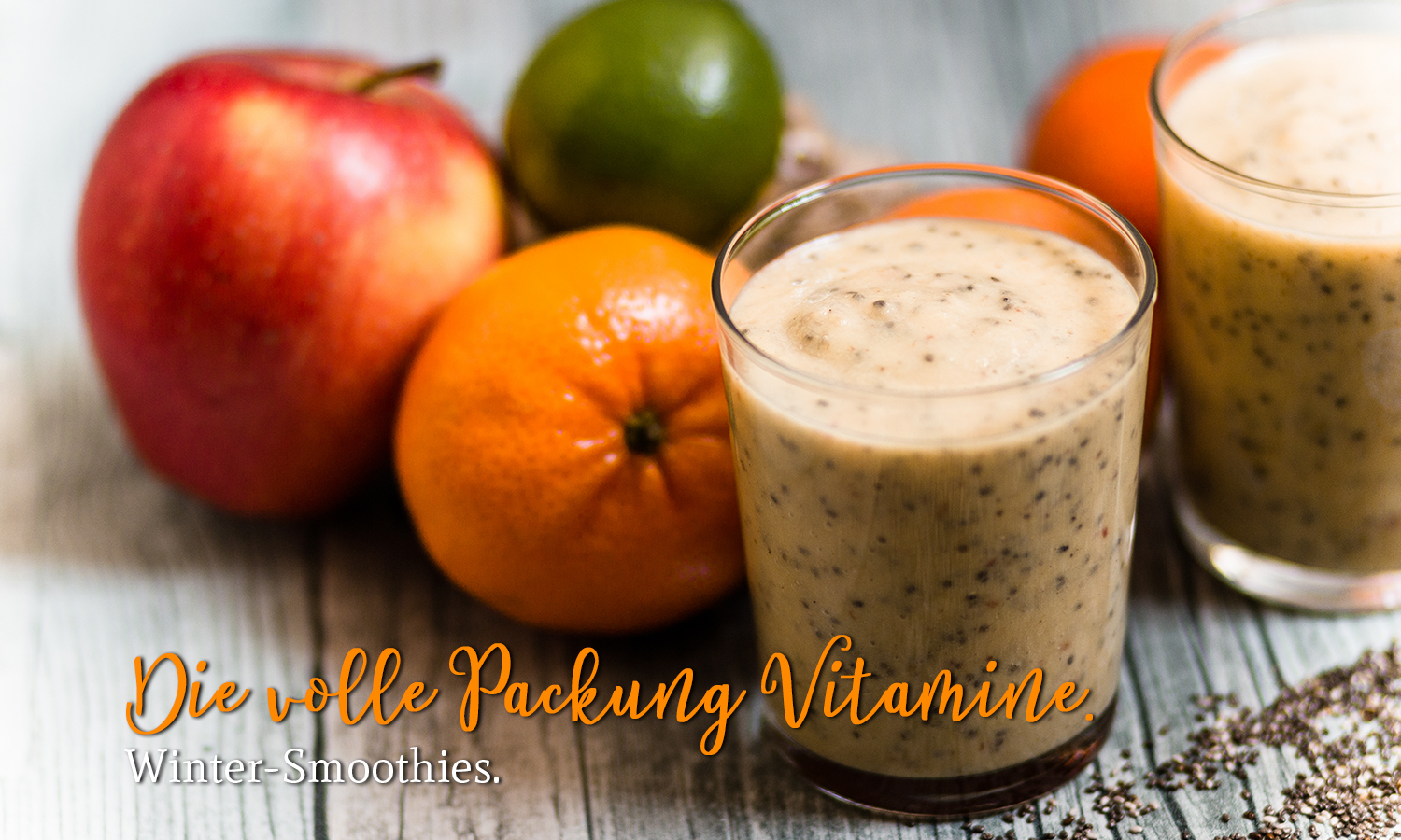 Die volle Packung Vitamine | Winter-Smoothies.