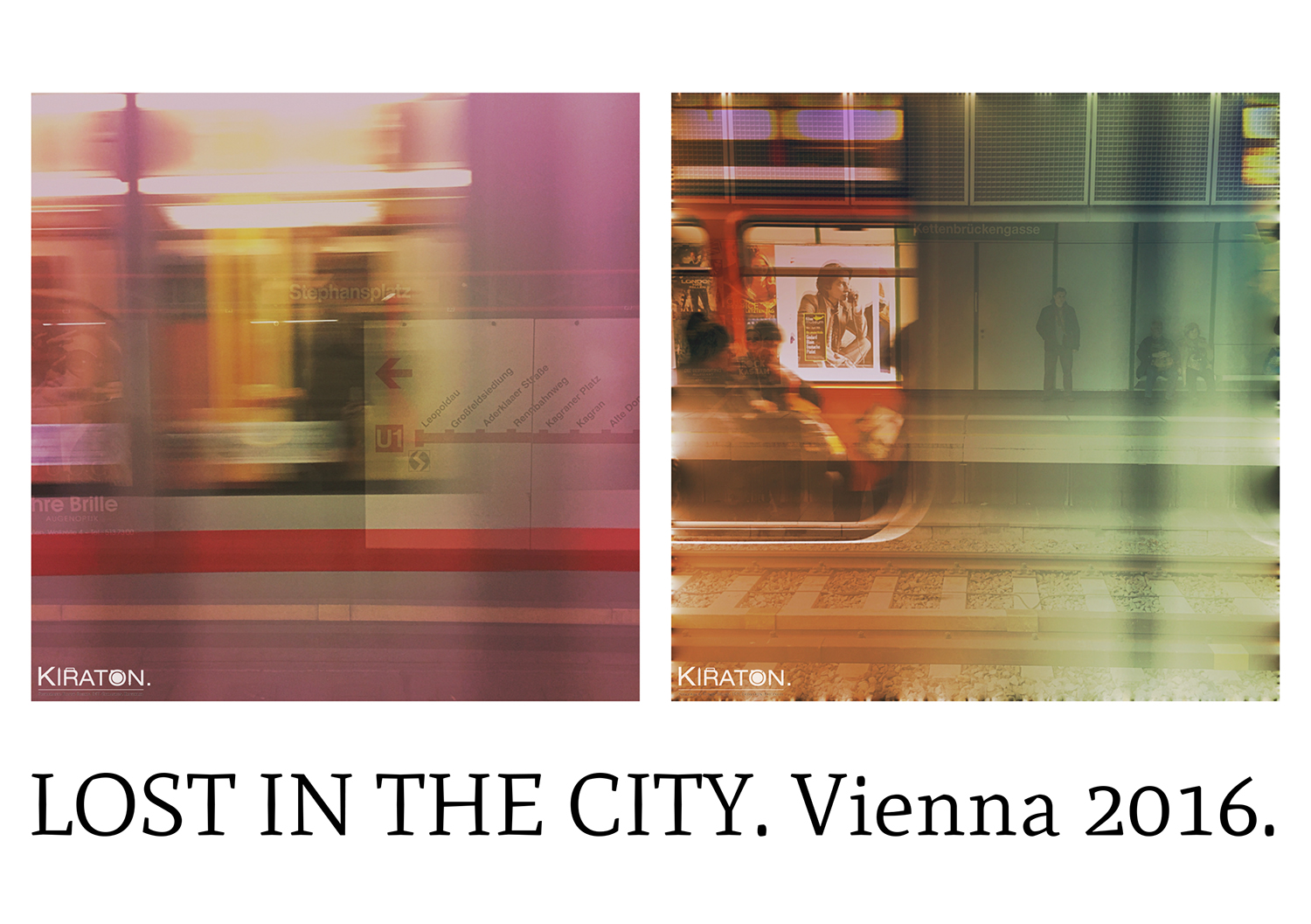 Lost in the City. Vienna 2016