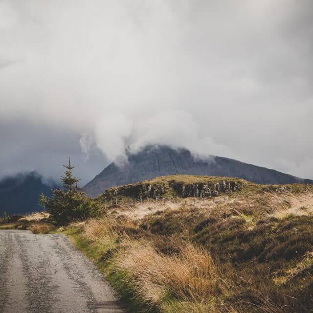 On the road into the sky  roadtrip scotland skyehellip