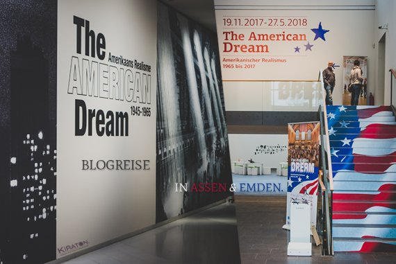 Titelbild: Blogreise The American Dream in Assen & Emden.